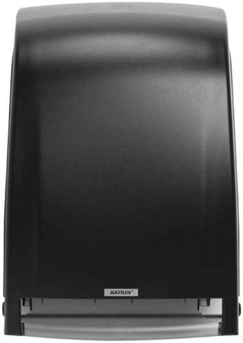 Dispenser Katrin 104438 handdoekrol elektrisch zwart