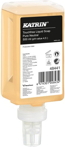 Handzeep Katrin 48441 Touchfree Pure Neutral 500ml