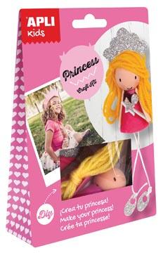 Apli Kids craft kit op blister, prinses