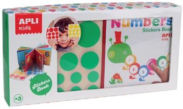 Apli Kids 'Mijn eerste boek' met stickers, thema cijfers