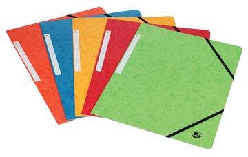 5Star Elastomap met kleppen geassorteerde kleuren