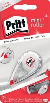 Pritt correctieroller Mini 4,2 mm x 6 m op blister