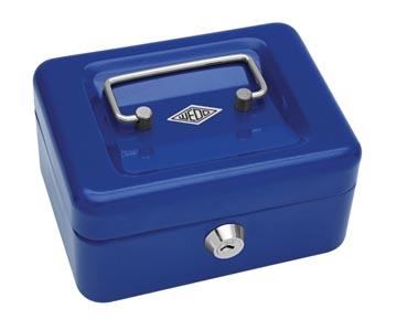 Wedo Geldkoffer 12,5 x 11,5 x 8 cm blauw