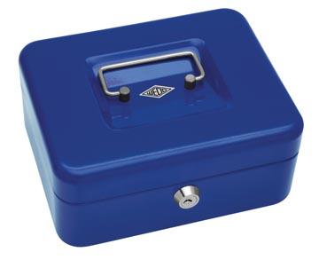 Wedo Geldkoffer 20 x 16 x 9 cm blauw