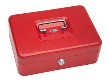 Wedo Geldkoffer 25 x 18 x 9 cm rood