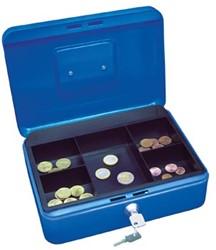 Wedo Geldkoffer 25 x 18 x 9 cm blauw