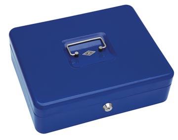 Wedo Geldkoffer 30 x 24 x 9 cm blauw