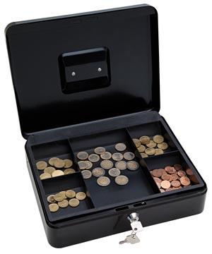 Wedo Geldkoffer 30 x 24 x 9 cm zwart