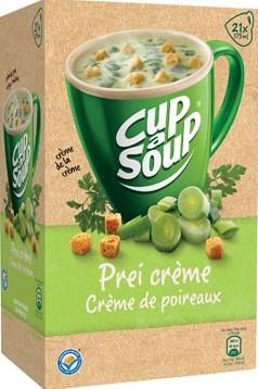 Cup a soup prei crème