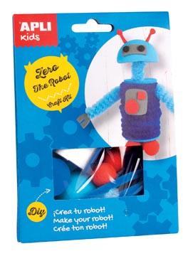 Apli Kids craft kit op blister, robot Zero
