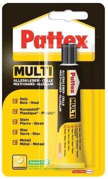 Pattex Alleslijm tube van 20 g, op blister