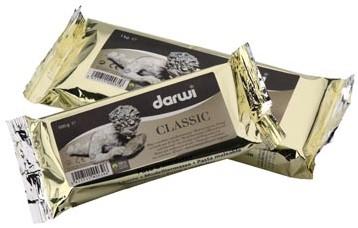 Boetseerpasta Darwi Classic pak van 1 kg wit