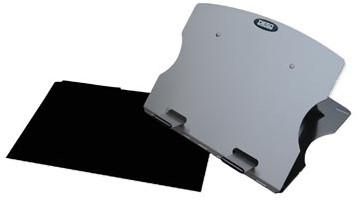 Laptopstandaard Desq met beschermhoes voor laptops tot 17 inch
