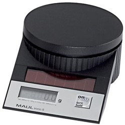 Maul weegschaal MAULtronic S 2kg. Zwart