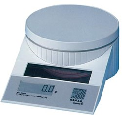 Maul weegschaal MAULtronic S 2kg. wit