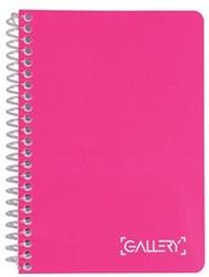 Gallery notitieboek Passion For Colour, ft A6, gelijnd, 160 bladzijden, geassorteerde kleuren