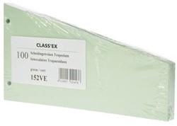 Class'ex trapezium scheidingsstroken groen