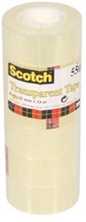 Scotch plakband Scotch® 550 ft 15 mm x 33 m, 10 rolletjes