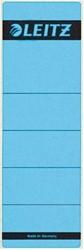 Leitz zelfklevende rugetiketten voor brede ordner kort model blauw pk/10