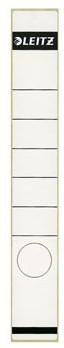 Leitz zelfklevende rugetiketten voor smalle ordner lang model wit pk/10