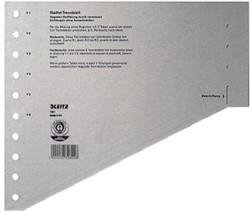 Leitz staffelscheidingsblad voor ft A4, grijs, pak van 10 0