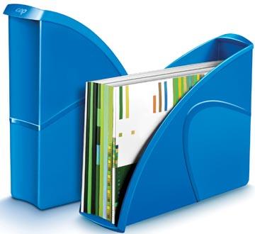 Gloss by CEP tijdschriftenhouder A4, blauw