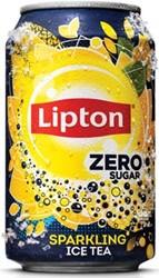 Lipton frisdranken Ice Tea Ice Tea Zero, blikje van 33 cl, pak van 24 stuks
