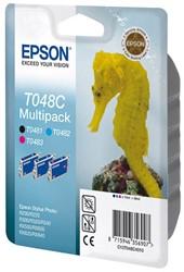 C13T048C4010 EPSON R300 TINTE CMY (3) 3x13ml Multipack