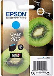 C13T02F24010 EPSON XP6000 INK CYAN 4,1ml 300pages Claria Premium