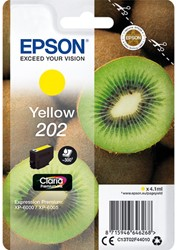 C13T02F44010 EPSON XP6000 INK YELLOW 4,1ml 300pages Claria Premium