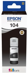 C13T00P140 EPSON 104 INK BLACK 70ml 4500pages bottle EcoTank