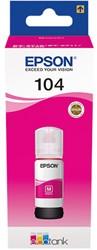C13T00P340 EPSON 104 INK MAGENTA 65ml 7500pages bottle EcoTank