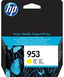 HP 953 cartridge F6U14AE geel inhoud 10 ml