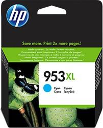 HP 953XL cartridges F6U16AE cyaan high capacity inhoud 20 ml