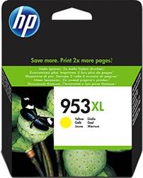 HP 953XL cartridges F6U18AE geel inhoud 20 ml