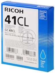 405766 RICOH SG2100N INK CYA 600pages/5%cov GC41CL cyan