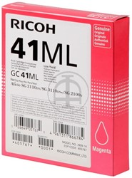 405767 RICOH SG2100N INK MAG 600pages/5%cov GC41ML magenta