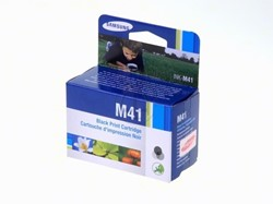 Samsung Inkjet Samsung INKM41ELS|M41 Printkop cartridge zwart, 750 Paginas, Inhoud 17 ml voor SF 370/3...