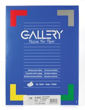 etiketten  A4 229 x 324mm venster links en plakstrip