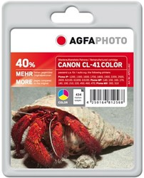 AGFA Photo inktcartridge CANON CL41C 24ml 40% extra life color 24ml 40% extra life color