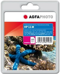 HP 11 compatible cartridge AgfaPhoto C4837A magenta