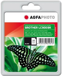 AGFA Photo inktcartridge Brother LC900BK  25ml 500pages 5%cov black
