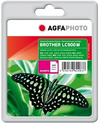 AGFA Photo inktcartridge Brother LC900M 18ml 400pages 5%cov magenta