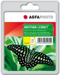 AGFA Photo inktcartridge Brother LC900Y 18ml 400pages 5%cov yellow