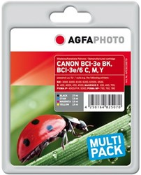 AGFA Photo inktcartridge CANON BCI3SET  1x27ml+3x13ml ink cmyk