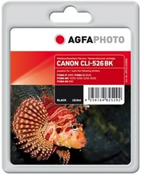 AGFA Photo inktcartridge CANON CLI526BK IP4850 10,5ml black incl chip 10,5ml black incl chip