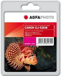 AGFA Photo inktcartridge CANON CLI526M IP4850 MAG 10,5ml magenta incl chip 10,5ml magenta incl chip