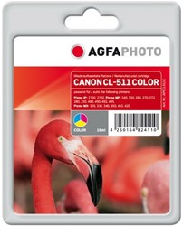 AGFA Photo inktcartridge CANON CL511C 10ml color 10ml color