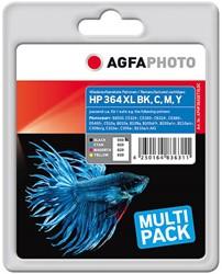 Compatible HP 364XL combo pack 4 kleuren N9J74AE AgfaPhoto