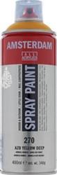 Amsterdam standard acrylspray 400 ml azogeel donker